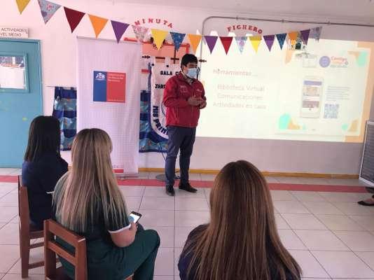 Seremi de Educación de Ñuble lanza aplicación que potenciará participación de las familias en los procesos educativos de los niños y niñas