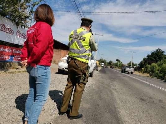 Transportes y Carabineros hacen un llamado al autocuidado para evitar siniestros viales este fin de semana