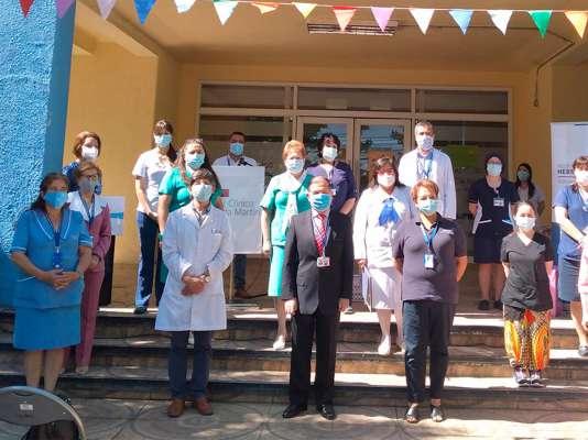 Hospital reconoce el trabajo del voluntariado durante la pandemia